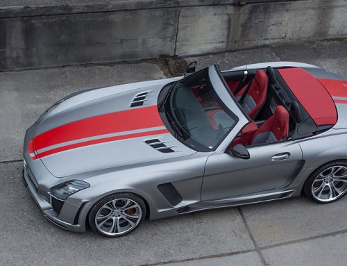 Mercedes-Benz SLS AMG FAB JETSTREAM